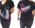 Precision Turbo: Turbo Tread V-Neck (ladies)