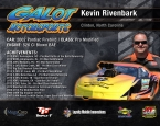 GALOT Motorsports: Hero Card - Kevin Rivenbark (back)