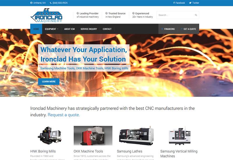 Motorsports Website Design - P TEN Marketing
