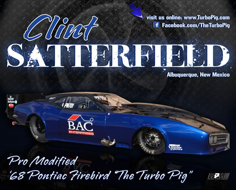 2014 Hero Card - Clint Satterfield