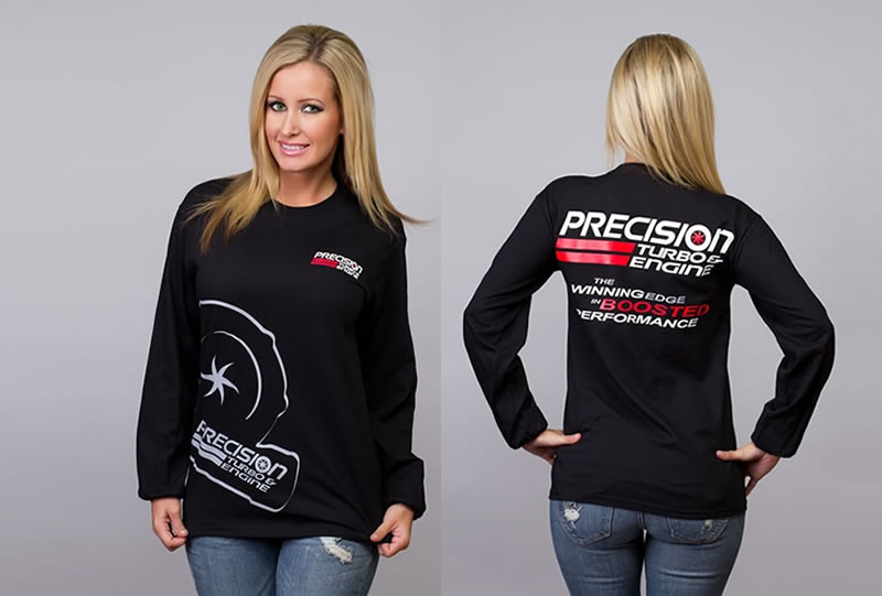 Precision Turbo: Compressor Long Sleeve T-Shirt