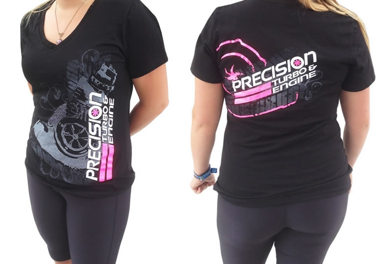 Precision Turbo: Turbo Tread V-Neck (ladies)