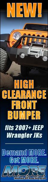 M.O.R.E.: New Bumper 160x600 banner ad