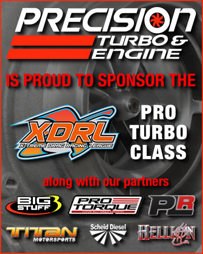 Precision Turbo & Engine: X-DRL Sponsorship 400x500 banner ad