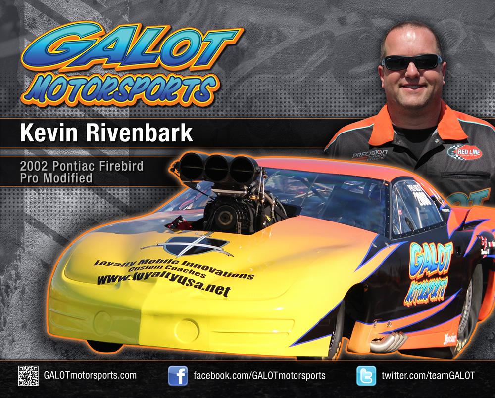 GALOT Motorsports: Hero Card - Kevin Rivenbark (front)