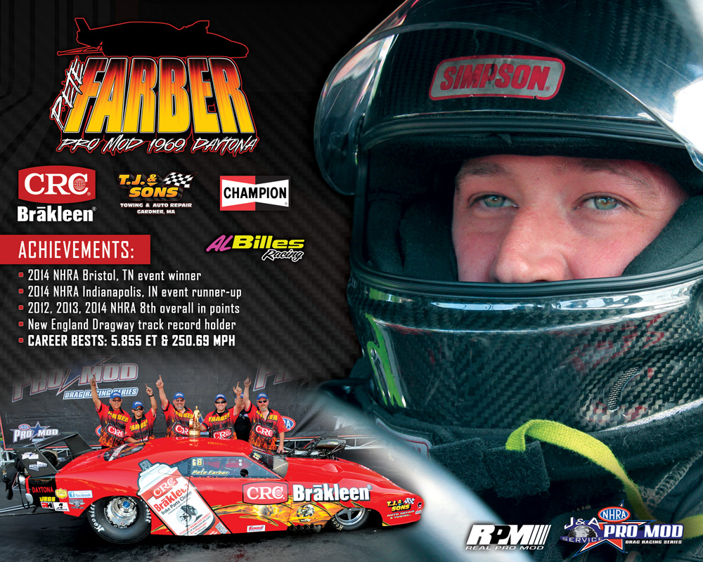 Pete Farber Racing: Hero Card - Pete Farber