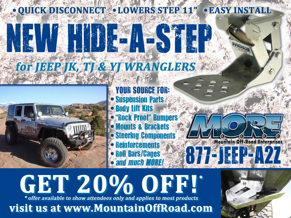 M.O.R.E.: 5x3.75 print ad for 2012 Jeep Beach