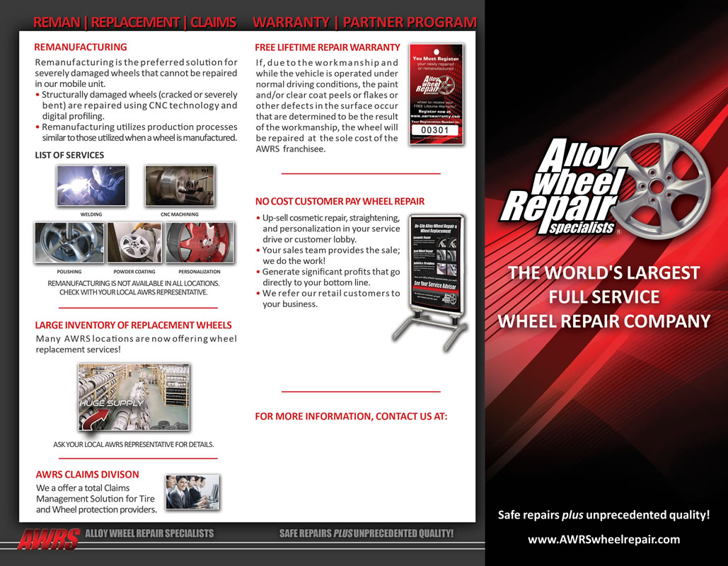 AWRS: Tri-Fold Brochure