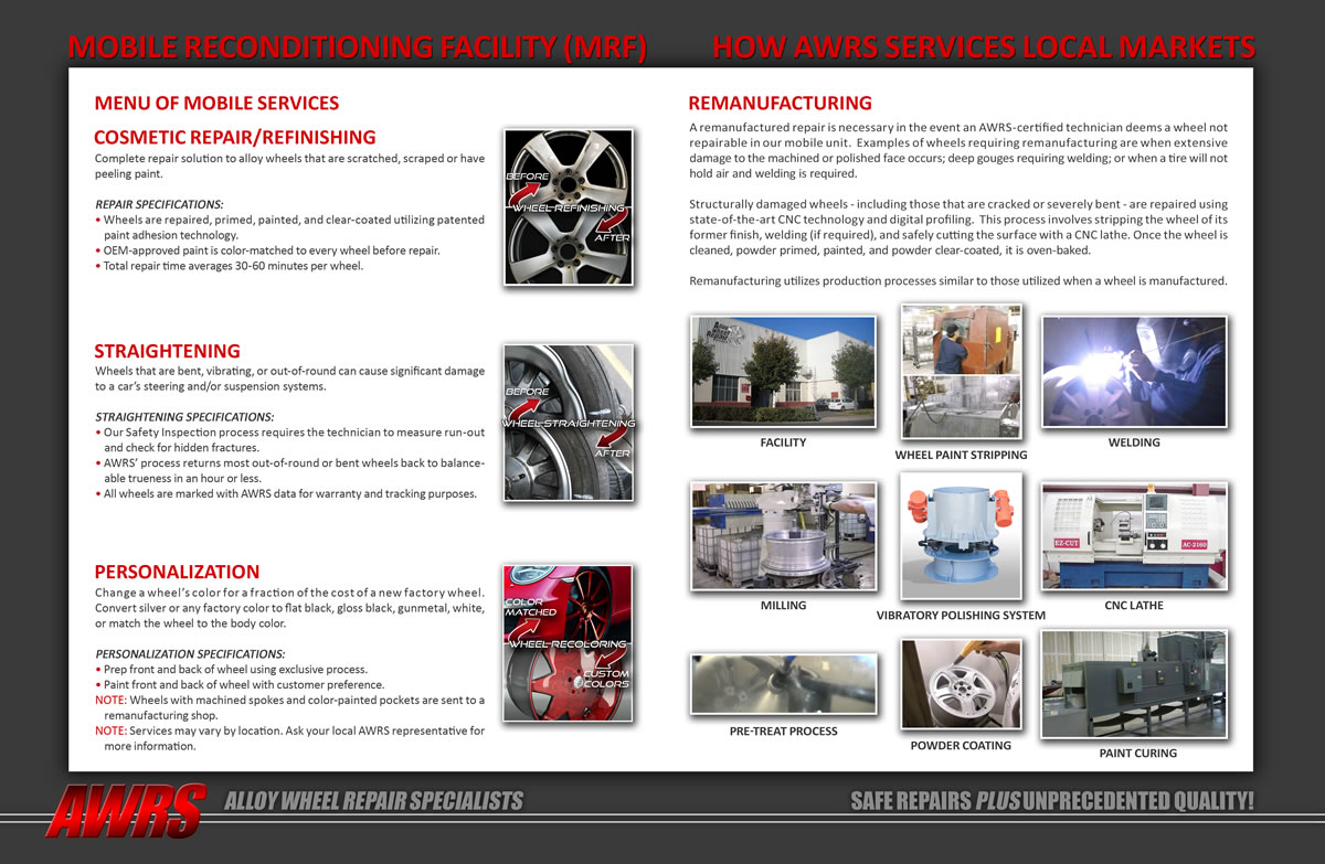 AWRS: 4-Page Brochure