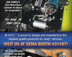 M.O.R.E.: 4.25x8.25 print ad in SEMA Pocket Guide