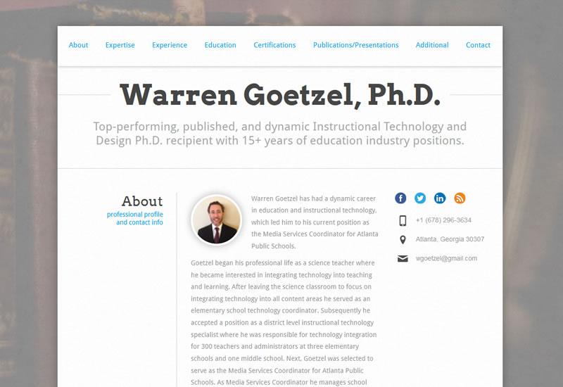 http://www.WarrenGoetzel.com