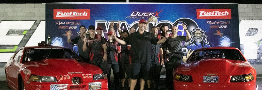 Jamie Miller Tunes Two to Double Victories in Pro 275 and X275 at DXP Magic 8 Race at OSW